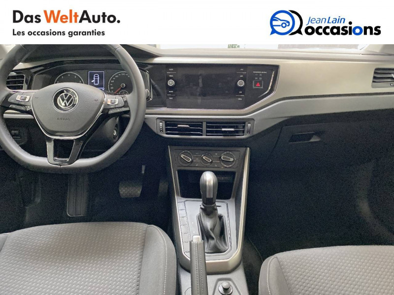 Volkswagen Polo VI Polo 1.0 TSI 95 S&S DSG7 Lounge 5p Gris occasion à La Motte-Servolex - photo n°11