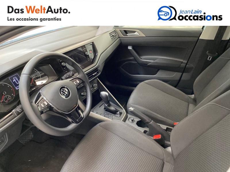 Volkswagen Polo VI Polo 1.0 TSI 95 S&S DSG7 Lounge 5p Gris occasion à La Motte-Servolex - photo n°12