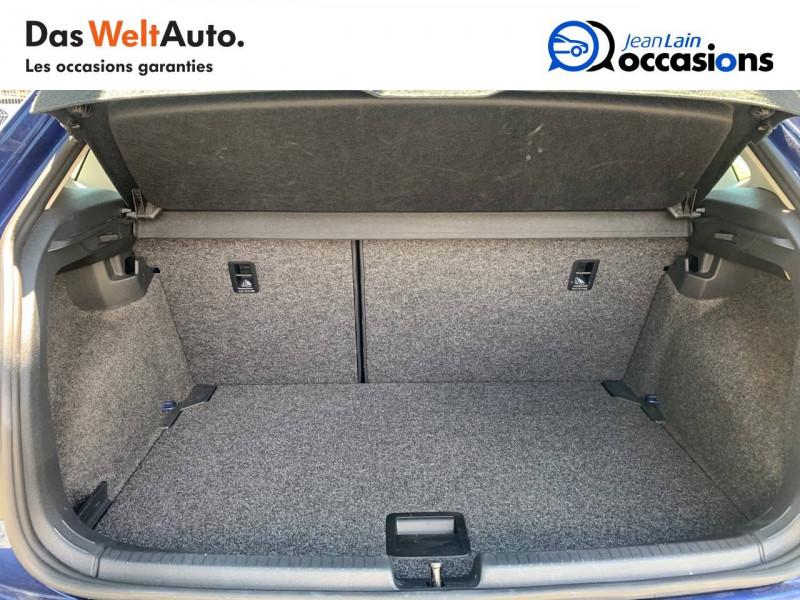Volkswagen Polo VI Polo 1.0 TSI 95 S&S DSG7 Lounge 5p Bleu occasion à La Motte-Servolex - photo n°10
