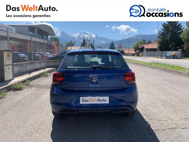 Volkswagen Polo VI Polo 1.0 TSI 95 S&S DSG7 Lounge 5p Bleu occasion à La Motte-Servolex - photo n°6