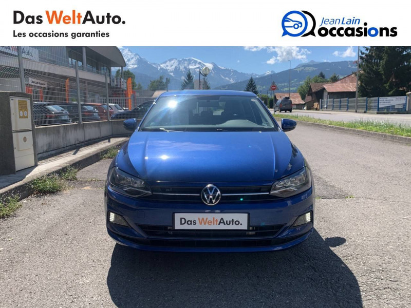Volkswagen Polo VI Polo 1.0 TSI 95 S&S DSG7 Lounge 5p Bleu occasion à La Motte-Servolex - photo n°2