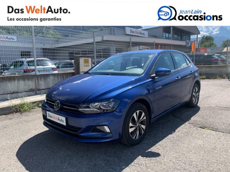 Volkswagen Polo VI Polo 1.0 TSI 95 S&S DSG7 Lounge 5p Bleu occasion à La Motte-Servolex