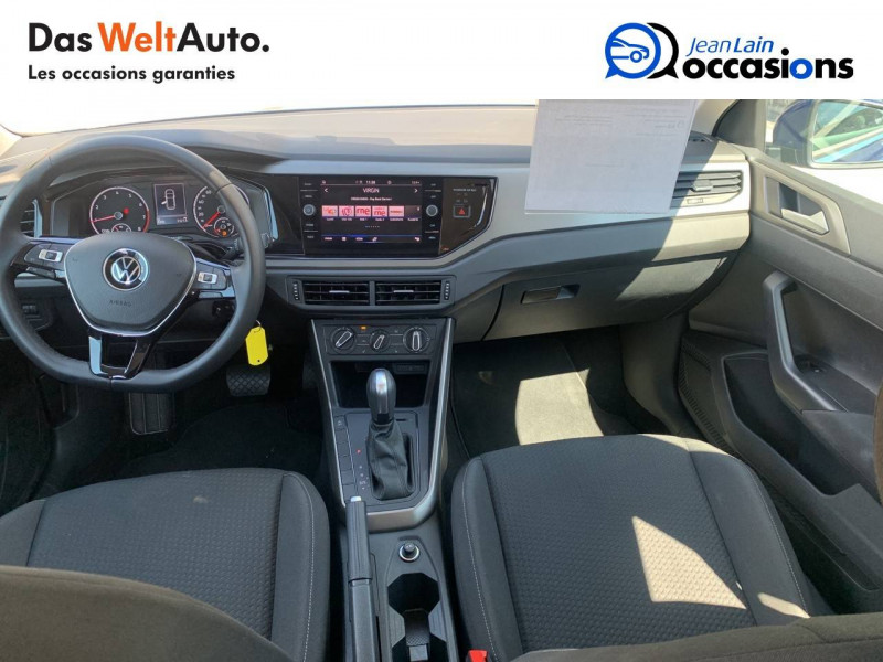 Volkswagen Polo VI Polo 1.0 TSI 95 S&S DSG7 Lounge 5p Bleu occasion à La Motte-Servolex - photo n°18