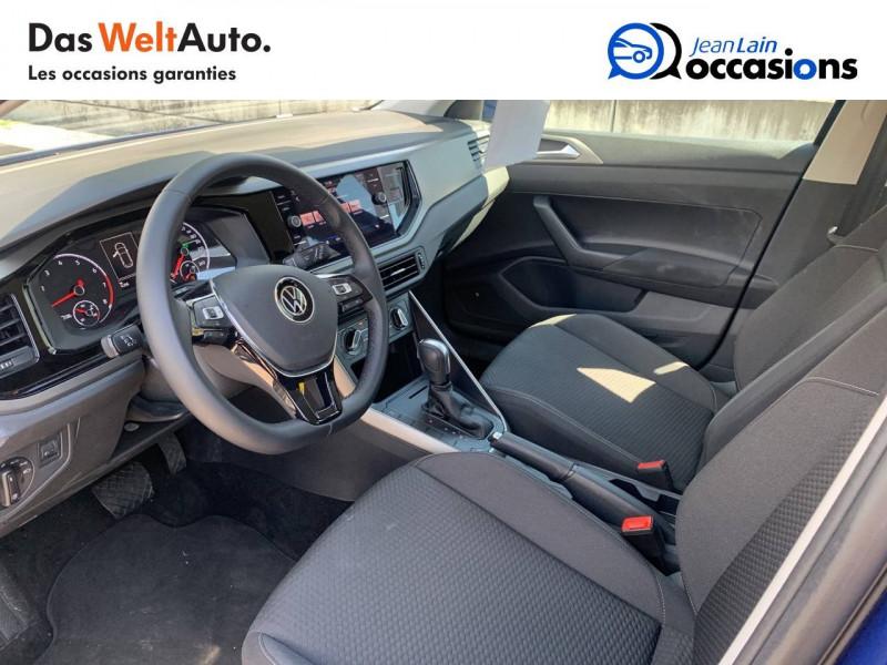Volkswagen Polo VI Polo 1.0 TSI 95 S&S DSG7 Lounge 5p Bleu occasion à La Motte-Servolex - photo n°11