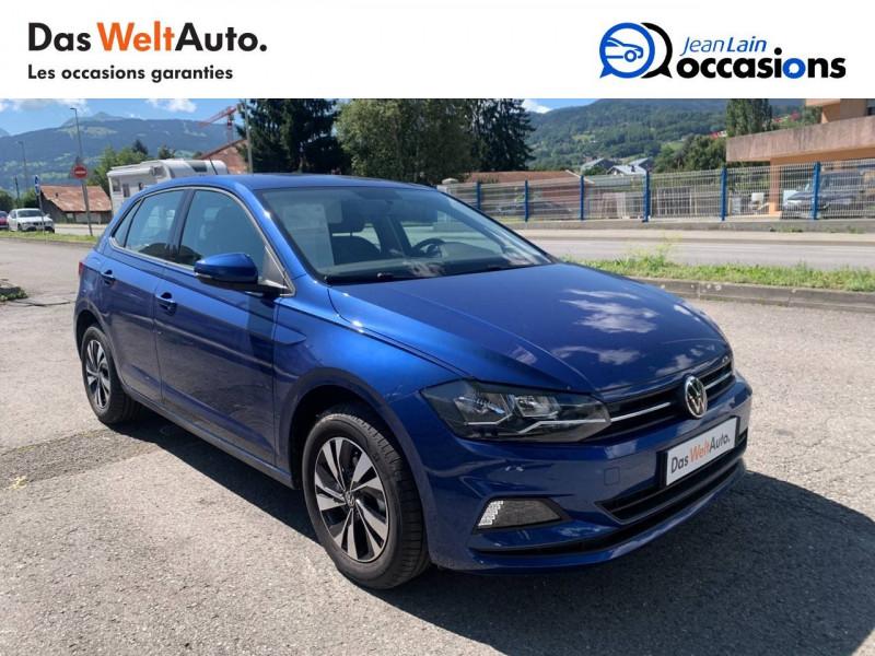 Volkswagen Polo VI Polo 1.0 TSI 95 S&S DSG7 Lounge 5p Bleu occasion à La Motte-Servolex - photo n°3