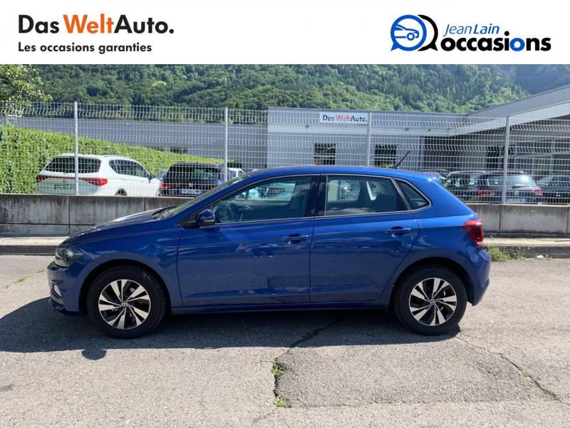 Volkswagen Polo VI Polo 1.0 TSI 95 S&S DSG7 Lounge 5p Bleu occasion à La Motte-Servolex - photo n°8