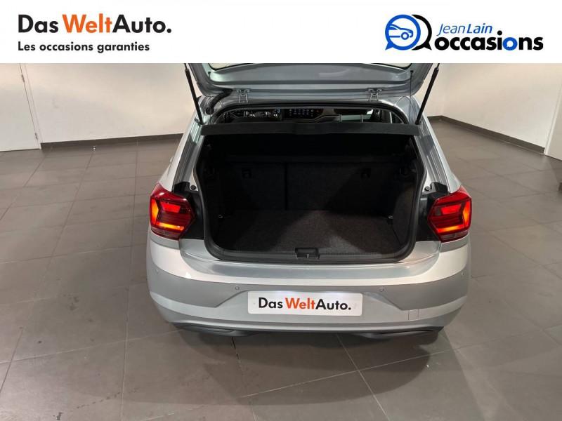 Volkswagen Polo VI Polo 1.0 TSI 95 S&S DSG7 Lounge 5p Gris occasion à Seynod - photo n°10