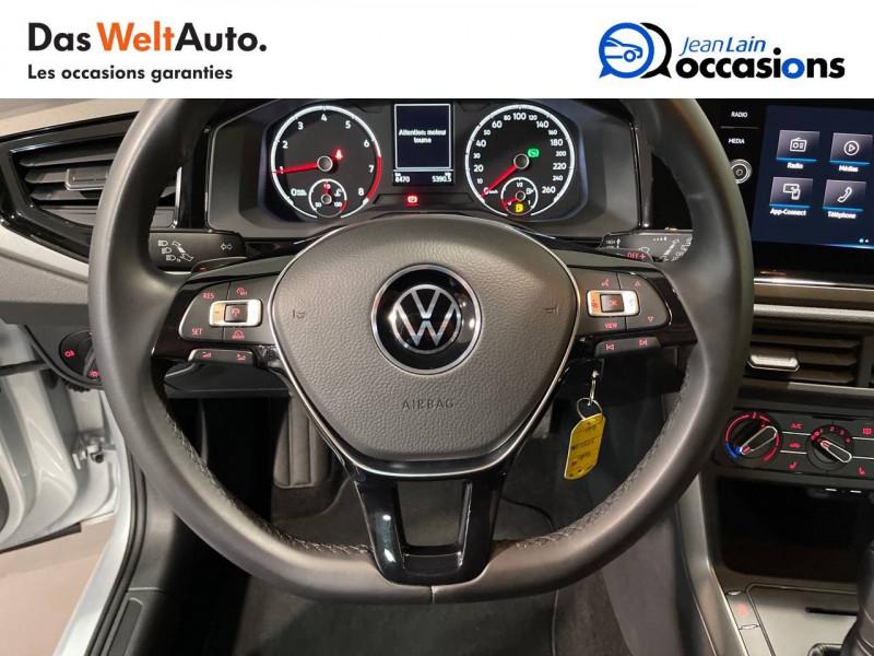 Volkswagen Polo VI Polo 1.0 TSI 95 S&S DSG7 Lounge 5p Gris occasion à Seynod - photo n°12
