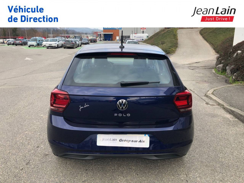 Volkswagen Polo VI Polo 1.0 TSI 95 S&S DSG7 Lounge 5p Bleu occasion à Grésy-sur-Aix - photo n°6