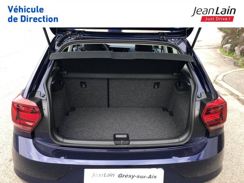 Volkswagen Polo VI Polo 1.0 TSI 95 S&S DSG7 Lounge 5p Bleu occasion à Grésy-sur-Aix - photo n°10