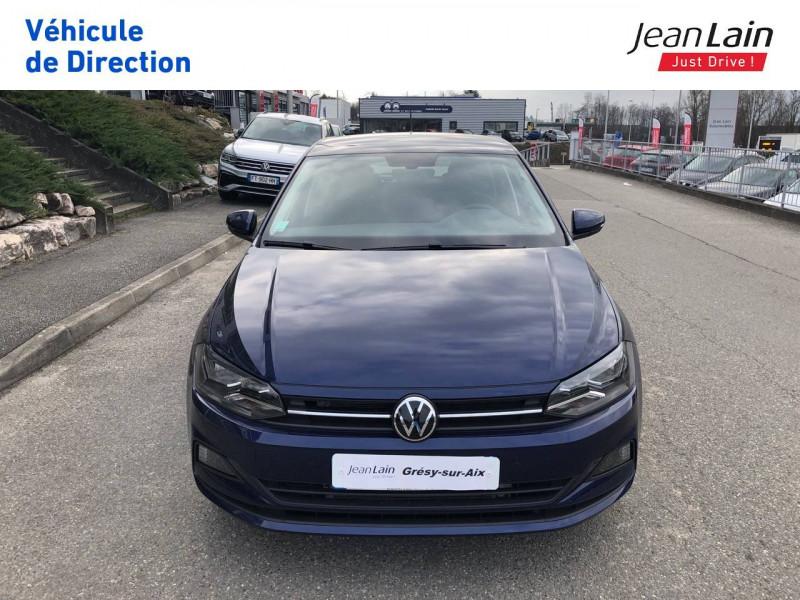 Volkswagen Polo VI Polo 1.0 TSI 95 S&S DSG7 Lounge 5p Bleu occasion à Grésy-sur-Aix - photo n°2