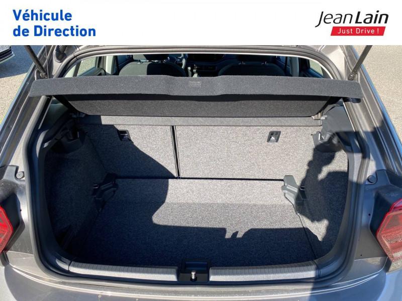 Volkswagen Polo VI Polo 1.0 TSI 95 S&S DSG7 Lounge 5p Gris occasion à La Motte-Servolex - photo n°10