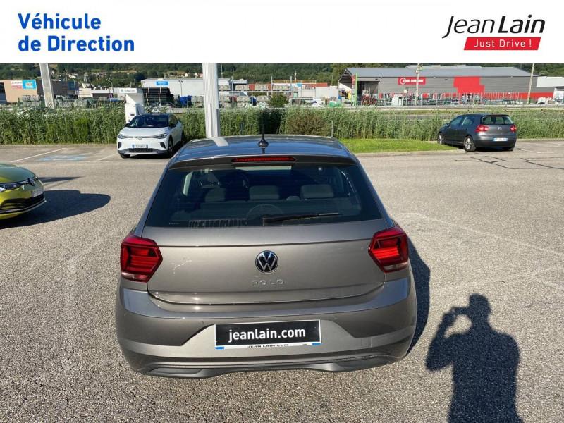 Volkswagen Polo VI Polo 1.0 TSI 95 S&S DSG7 Lounge 5p Gris occasion à La Motte-Servolex - photo n°6
