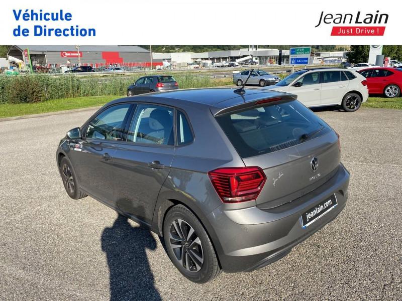 Volkswagen Polo VI Polo 1.0 TSI 95 S&S DSG7 Lounge 5p Gris occasion à La Motte-Servolex - photo n°7