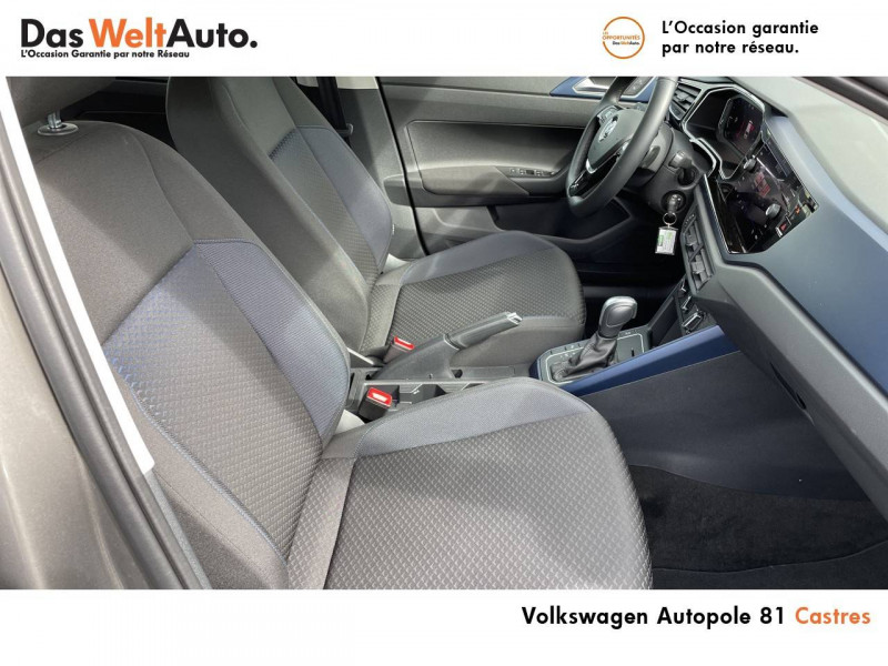 Volkswagen Polo VI Polo 1.0 TSI 95 S&S DSG7 United 5p Gris occasion à Castres - photo n°12