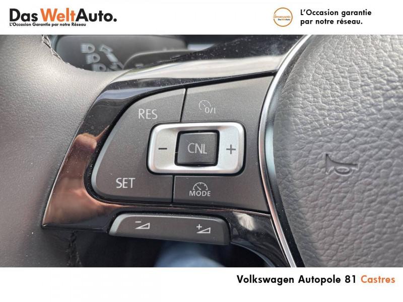 Volkswagen Polo VI Polo 1.0 TSI 95 S&S DSG7 United 5p Gris occasion à Castres - photo n°16