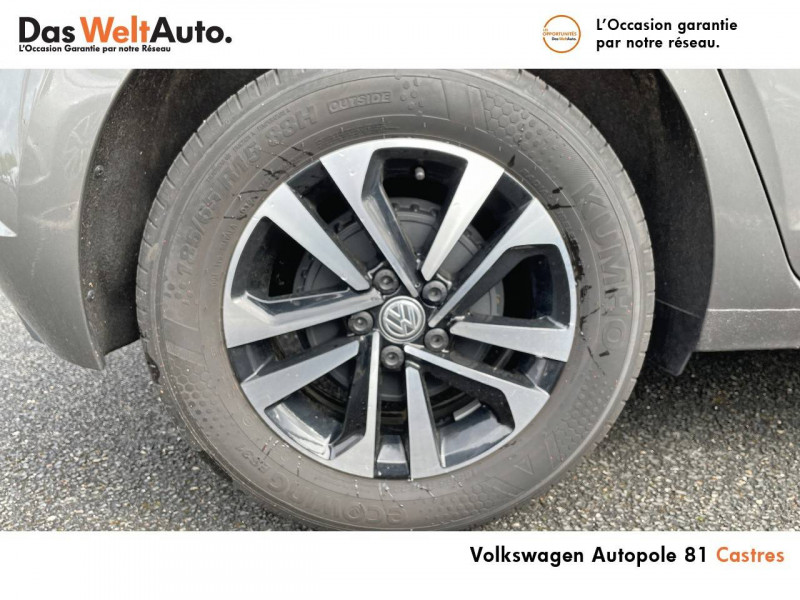 Volkswagen Polo VI Polo 1.0 TSI 95 S&S DSG7 United 5p Gris occasion à Castres - photo n°5