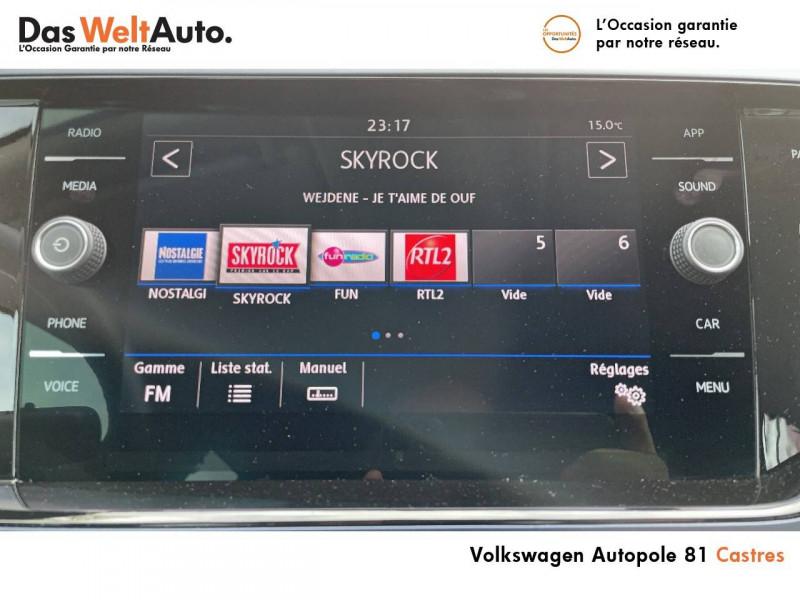 Volkswagen Polo VI Polo 1.0 TSI 95 S&S DSG7 United 5p Gris occasion à Castres - photo n°6