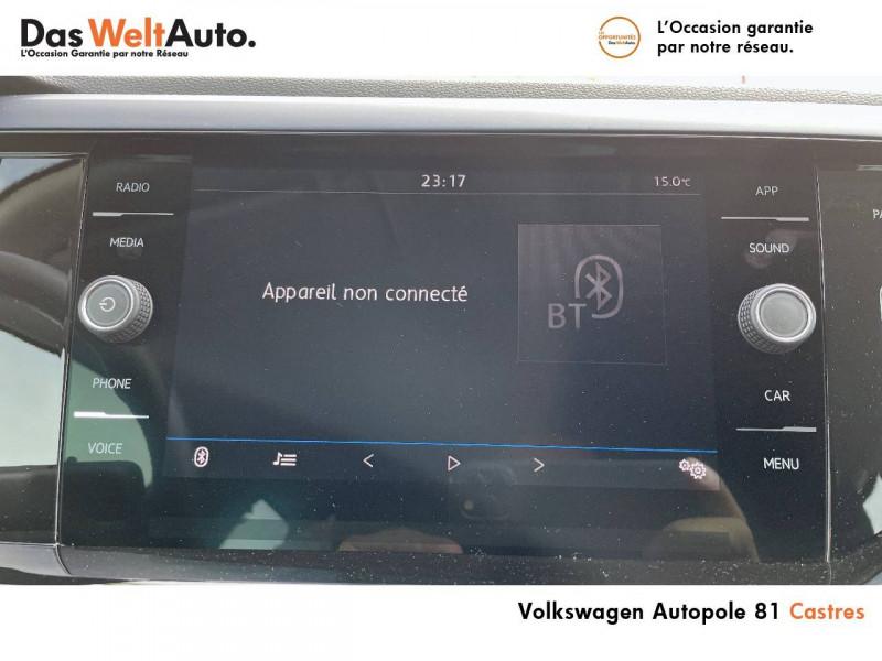 Volkswagen Polo VI Polo 1.0 TSI 95 S&S DSG7 United 5p Gris occasion à Castres - photo n°7