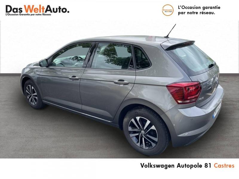 Volkswagen Polo VI Polo 1.0 TSI 95 S&S DSG7 United 5p Gris occasion à Castres - photo n°3