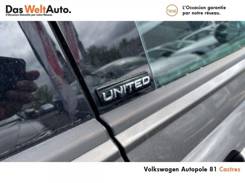 Volkswagen Polo VI Polo 1.0 TSI 95 S&S DSG7 United 5p Gris occasion à Castres - photo n°17