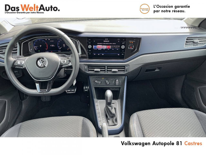 Volkswagen Polo VI Polo 1.0 TSI 95 S&S DSG7 United 5p Gris occasion à Castres - photo n°11