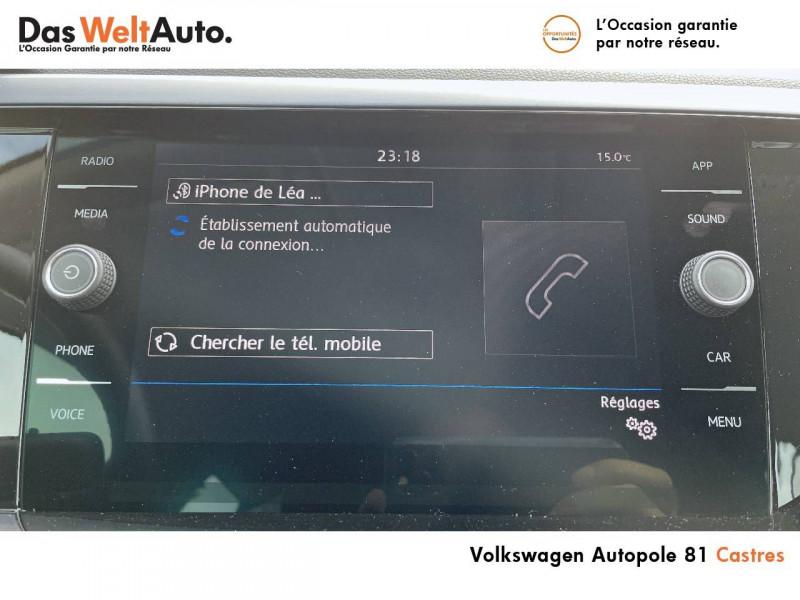 Volkswagen Polo VI Polo 1.0 TSI 95 S&S DSG7 United 5p Gris occasion à Castres - photo n°8