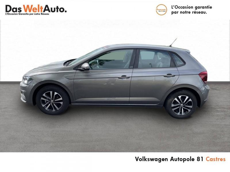 Volkswagen Polo VI Polo 1.0 TSI 95 S&S DSG7 United 5p Gris occasion à Castres - photo n°2