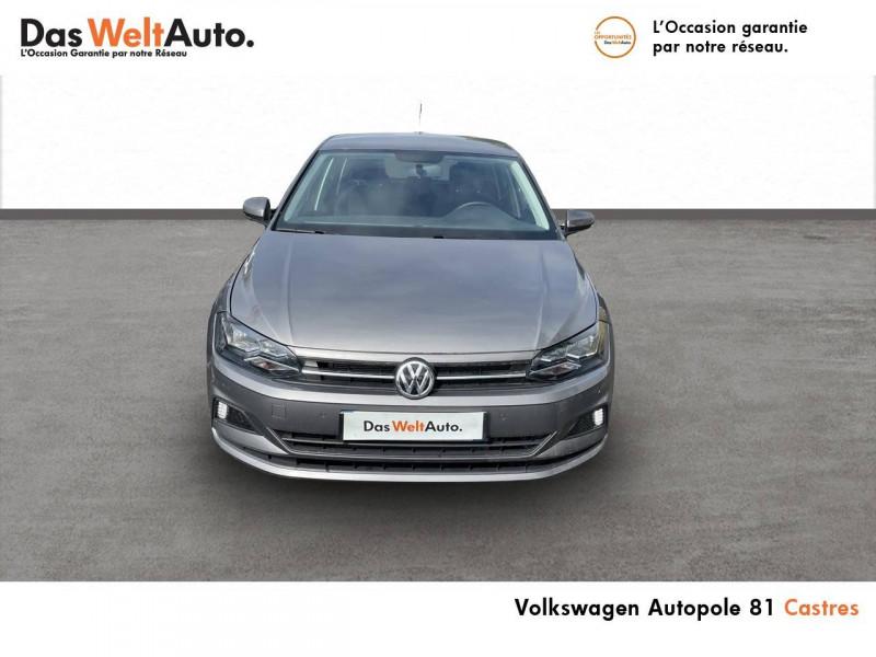 Volkswagen Polo VI Polo 1.0 TSI 95 S&S DSG7 United 5p Gris occasion à Castres - photo n°4