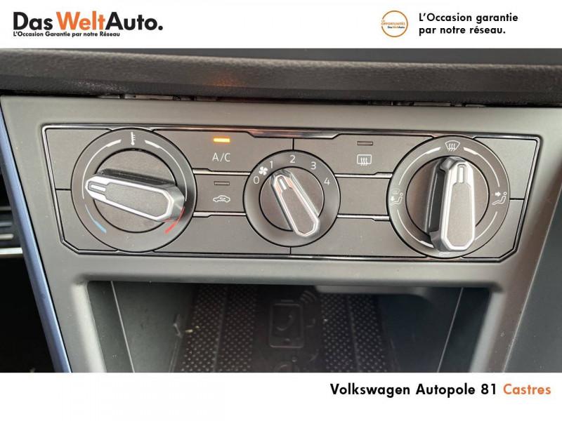 Volkswagen Polo VI Polo 1.0 TSI 95 S&S DSG7 United 5p Gris occasion à Castres - photo n°10
