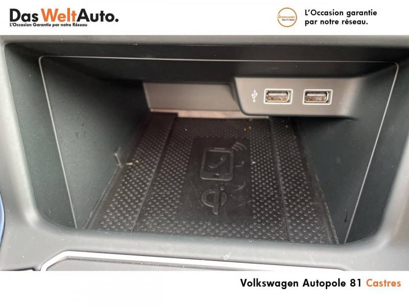 Volkswagen Polo VI Polo 1.0 TSI 95 S&S DSG7 United 5p Gris occasion à Castres - photo n°15
