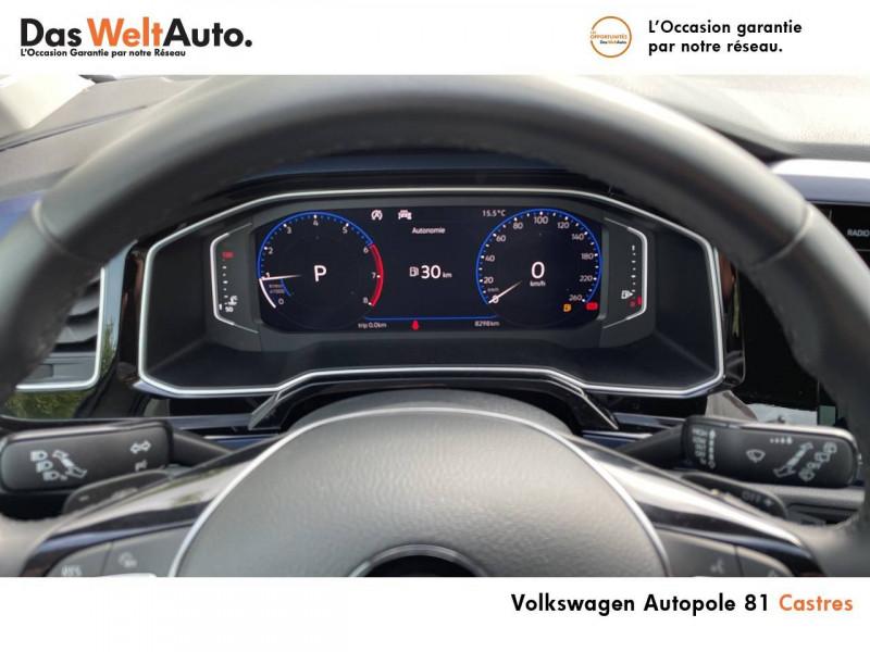 Volkswagen Polo VI Polo 1.0 TSI 95 S&S DSG7 United 5p Gris occasion à Castres - photo n°20