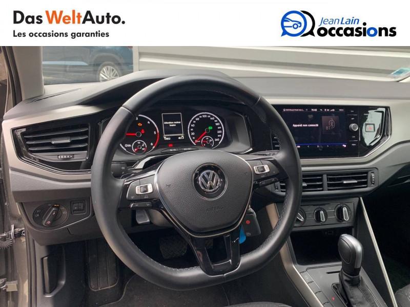 Volkswagen Polo VI Polo 1.6 TDI 95 S&S DSG7 Lounge Business 5p Gris occasion à Bellegarde-sur-Valserine - photo n°12