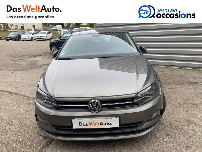 Volkswagen Polo VI Polo 1.6 TDI 95 S&S DSG7 Lounge Business 5p Gris occasion à Bellegarde-sur-Valserine - photo n°2