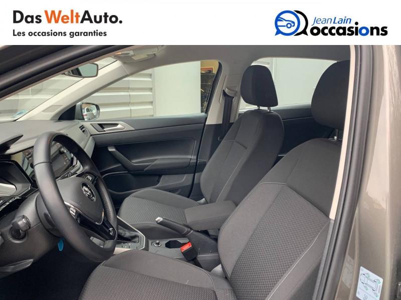 Volkswagen Polo VI Polo 1.6 TDI 95 S&S DSG7 Lounge Business 5p Gris occasion à Bellegarde-sur-Valserine - photo n°11