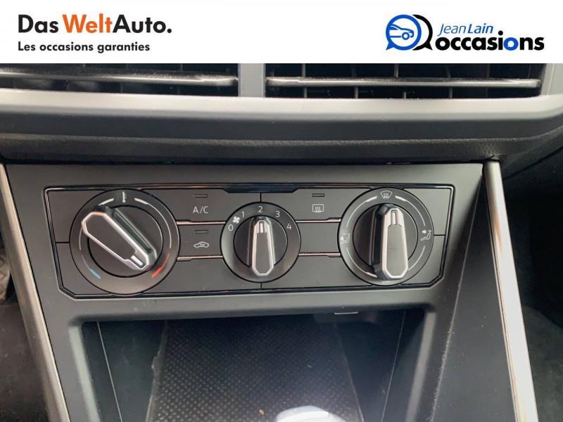 Volkswagen Polo VI Polo 1.6 TDI 95 S&S DSG7 Lounge Business 5p Gris occasion à Bellegarde-sur-Valserine - photo n°14