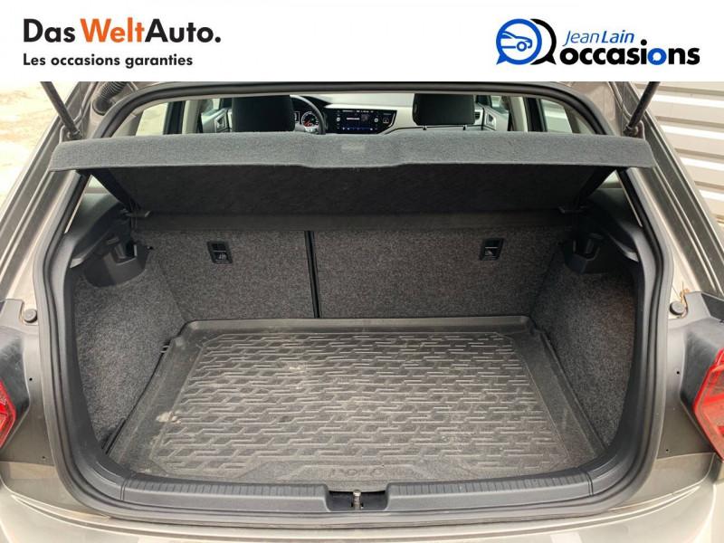 Volkswagen Polo VI Polo 1.6 TDI 95 S&S DSG7 Lounge Business 5p Gris occasion à Bellegarde-sur-Valserine - photo n°10