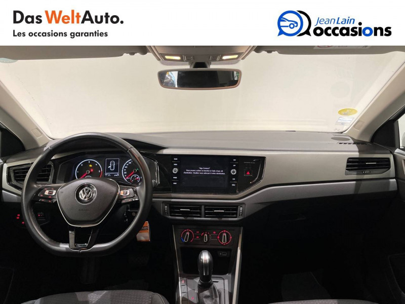 Volkswagen Polo VI Polo 1.6 TDI 95 S&S DSG7 Lounge Business 5p Blanc occasion à La Motte-Servolex - photo n°18