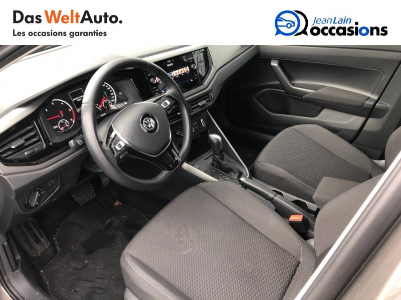 Volkswagen Polo VI Polo 1.6 TDI 95 S&S DSG7 Lounge Business 5p Gris occasion à Cessy - photo n°11