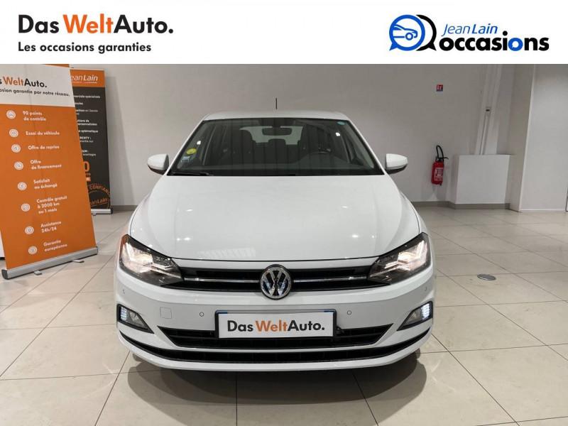 Volkswagen Polo VI Polo 1.6 TDI 95 S&S DSG7 Lounge Business 5p Blanc occasion à La Motte-Servolex - photo n°2