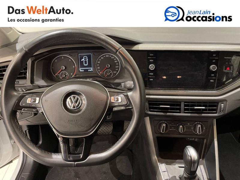 Volkswagen Polo VI Polo 1.6 TDI 95 S&S DSG7 Lounge Business 5p Blanc occasion à La Motte-Servolex - photo n°12