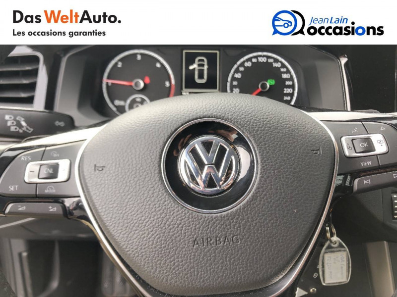 Volkswagen Polo VI Polo 1.6 TDI 95 S&S DSG7 Lounge Business 5p Gris occasion à Cessy - photo n°12