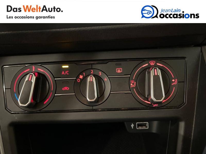 Volkswagen Polo VI Polo 1.6 TDI 95 S&S DSG7 Lounge Business 5p Blanc occasion à La Motte-Servolex - photo n°14
