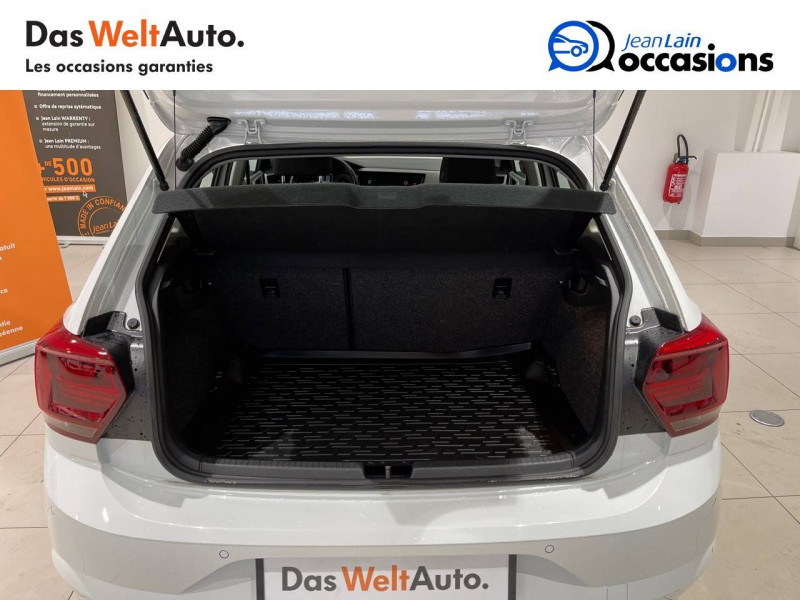 Volkswagen Polo VI Polo 1.6 TDI 95 S&S DSG7 Lounge Business 5p Blanc occasion à La Motte-Servolex - photo n°10