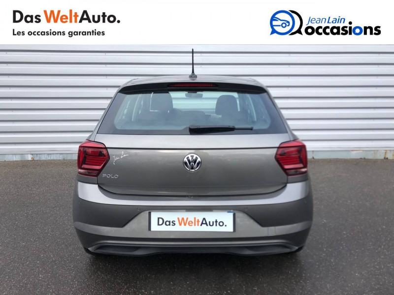 Volkswagen Polo VI Polo 1.6 TDI 95 S&S DSG7 Lounge Business 5p Gris occasion à Cessy - photo n°6
