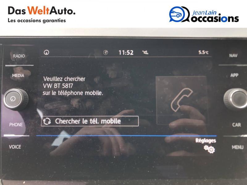 Volkswagen Polo VI Polo 1.6 TDI 95 S&S DSG7 Lounge Business 5p Gris occasion à Cessy - photo n°16