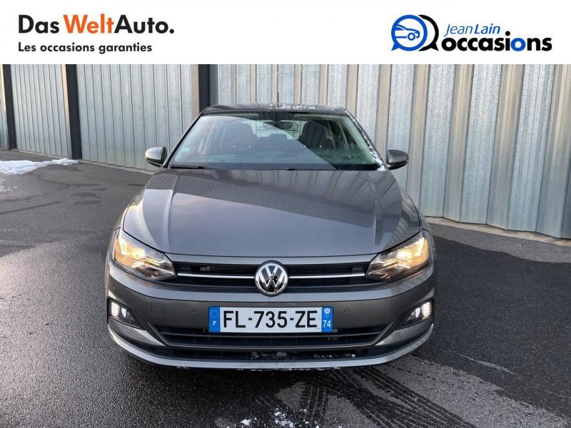 Volkswagen Polo VI Polo 1.6 TDI 95 S&S DSG7 Lounge Business 5p Gris occasion à Cessy - photo n°2
