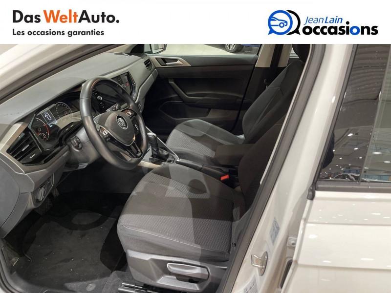 Volkswagen Polo VI Polo 1.6 TDI 95 S&S DSG7 Lounge Business 5p Blanc occasion à La Motte-Servolex - photo n°11