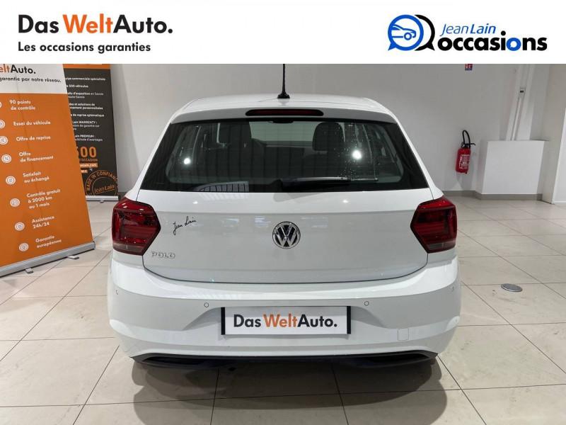 Volkswagen Polo VI Polo 1.6 TDI 95 S&S DSG7 Lounge Business 5p Blanc occasion à La Motte-Servolex - photo n°6