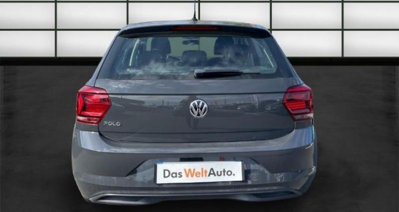 Volkswagen Polo 1.0 65ch Confortline 5p Noir occasion à La Rochelle - photo n°4